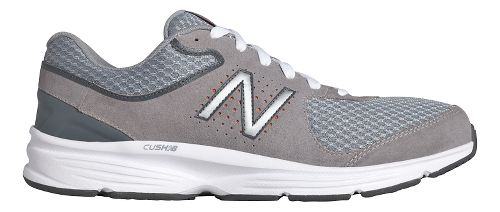 Mens New Balance 411v2 Walking Shoe - White/Blue 7.5