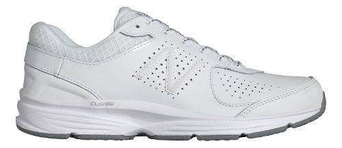Womens New Balance 411v2 Walking Shoe - White 7.5