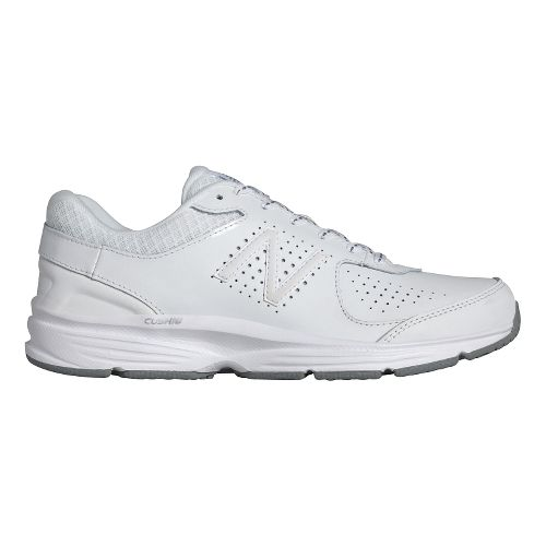 Womens New Balance 411v2 Walking Shoe - White 5