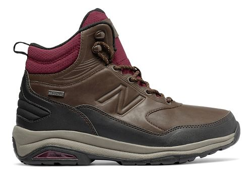 Womens New Balance 1400v1 Hiking Shoe - Dark Brown 10