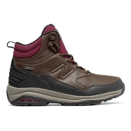 Womens New Balance 1400v1 Hiking Shoe - Dark Brown 8