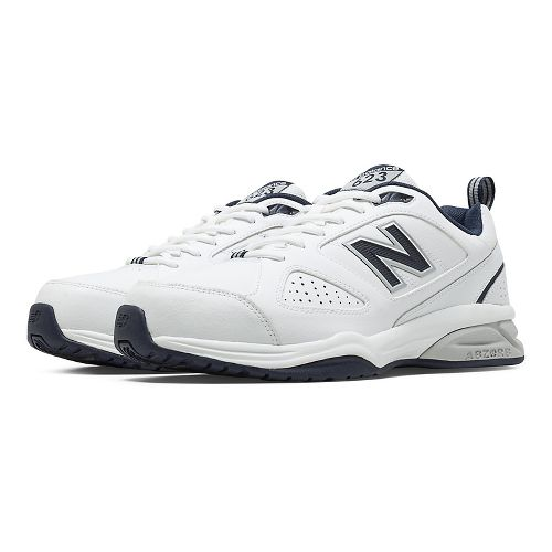 Mens New Balance 623v3 Cross Training Shoe - White/Navy 7.5