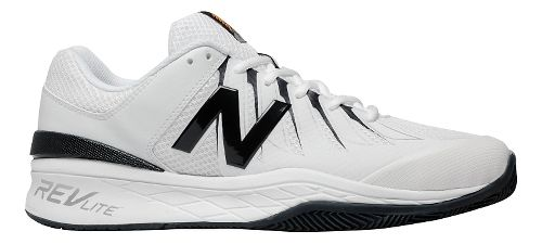 Mens New Balance 1006v1 Court Shoe - Black/White 11.5