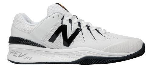 Mens New Balance 1006v1 Court Shoe - Black/White 12