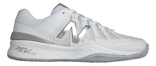 Womens New Balance 1006v1 Court Shoe - White/Silver 6