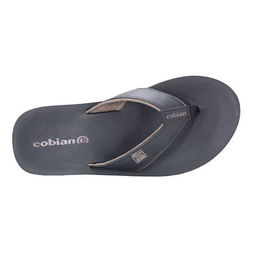 Mens Cobian The Ranch Sandals Shoe - Black 8