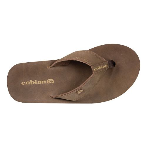 Mens Cobian The Ranch Sandals Shoe - Chocolate 12