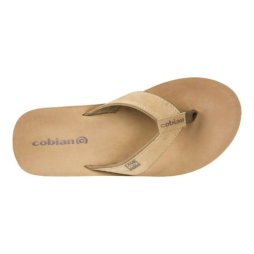 Mens Cobian The Ranch Sandals Shoe - Tan 7
