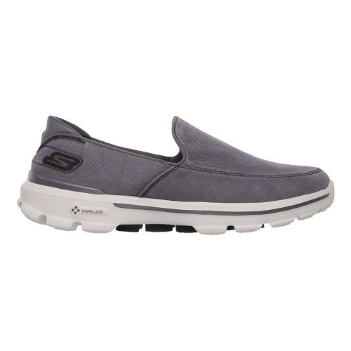 Mens Skechers GO Walk 3 - Unwind Walking Shoe - Charcoal 11