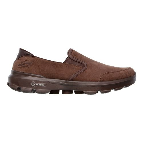 Mens Skechers GO Walk 3 - Task Walking Shoe - Chocolate 8