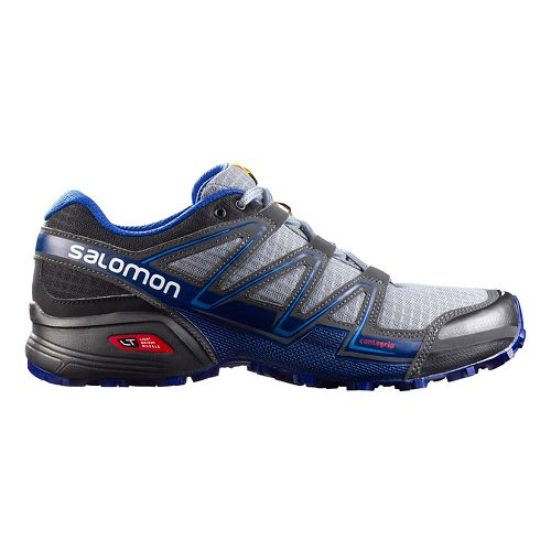 Mens Salomon Speedcross Vario Trail Running Shoe - Pearl Grey/Black 10