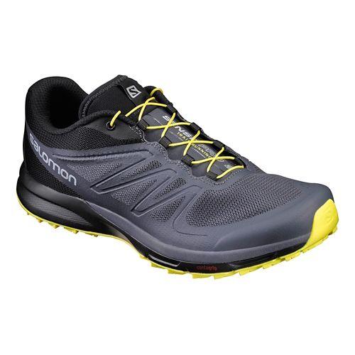 Mens Salomon Sense Pro 2 Trail Running Shoe - Ombre Blue/Black 12