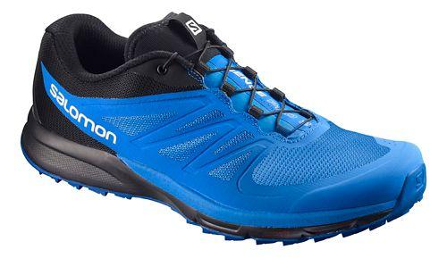 Mens Salomon Sense Pro 2 Trail Running Shoe - Indigo/Blue/Black 12