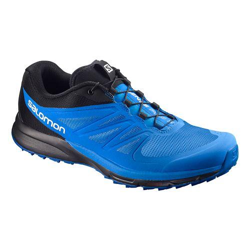 Mens Salomon Sense Pro 2 Trail Running Shoe - Indigo/Blue/Black 11