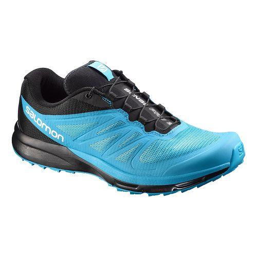 Mens Salomon Sense Pro 2 Trail Running Shoe - Blue/Black 9.5