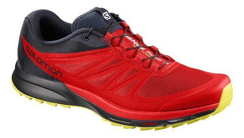 Mens Salomon Sense Pro 2 Trail Running Shoe - Fiery Red 8