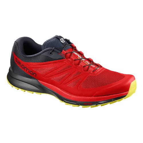 Mens Salomon Sense Pro 2 Trail Running Shoe - Fiery Red 8