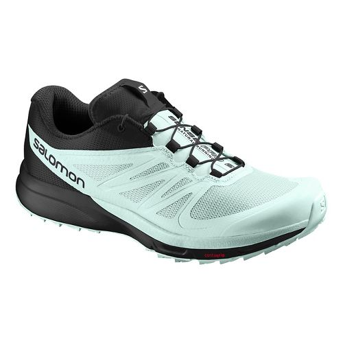 Womens Salomon Sense Pro 2 Trail Running Shoe - Igloo Blue 8