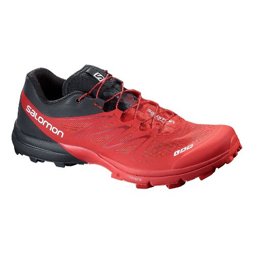 Salomon S-Lab Sense 5 Ultra SG Trail Running Shoe - Red/Black 10