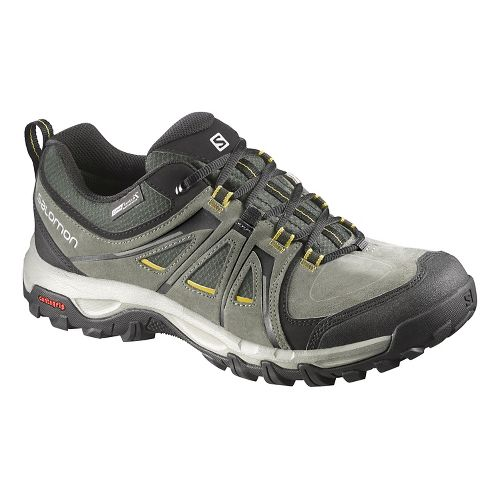 Mens Salomon Evasion CS WP Hiking Shoe - Night Forest 7