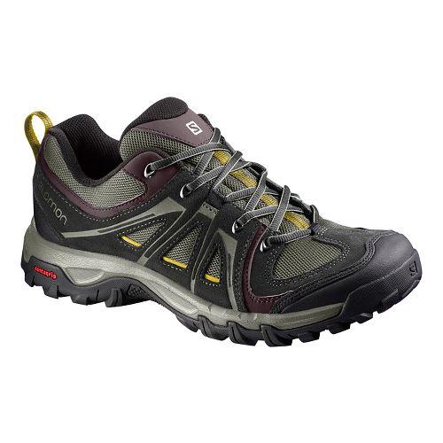 Mens Salomon Evasion Aero Hiking Shoe - Dark 10.5