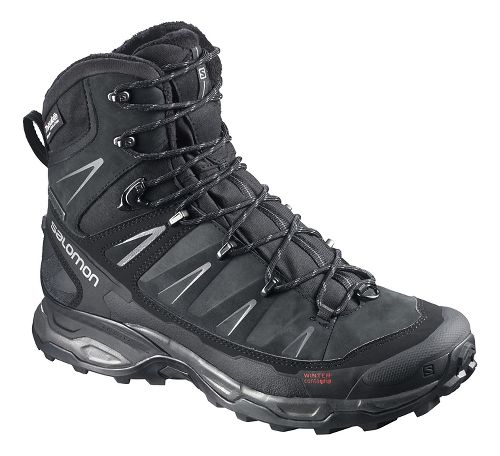 Mens Salomon X Ultra Winter CS WP Hiking Shoe - Black 10