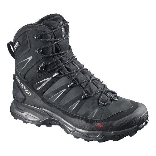 Mens Salomon X Ultra Winter CS WP Hiking Shoe - Black 10