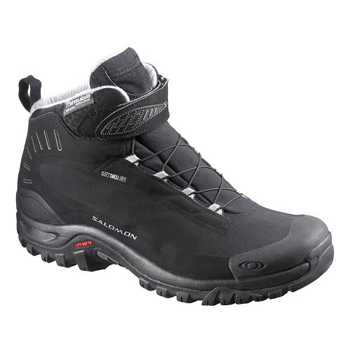 Mens Salomon Deemax 3 TS WP Trail Running Shoe - Black 10.5