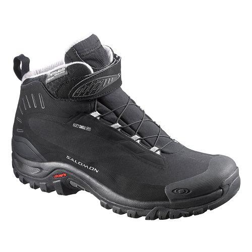 Mens Salomon Deemax 3 TS WP Trail Running Shoe - Black 7.5