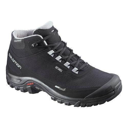 Mens Salomon Shelter CS WP Trail Running Shoe - Black 12