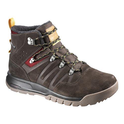 Mens Salomon Utility TS CSWP Hiking Shoe - Trophy Brown LTR 13