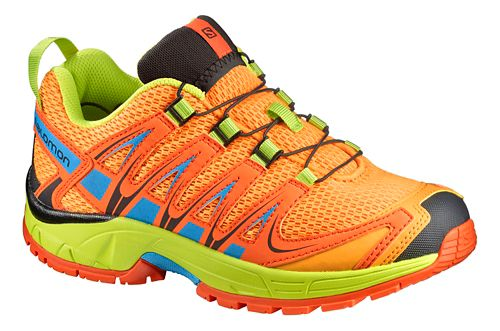 Salomon XA Pro 3D J Trail Running Shoe - Bright Marigold 1.5Y