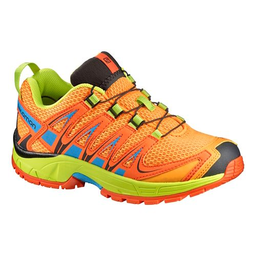 Salomon XA Pro 3D J Trail Running Shoe - Bright Marigold 1.5Y