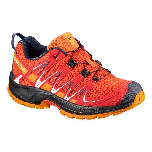 Kids Salomon XA Pro 3D K Trail Running Shoe - Fiery Red 9C