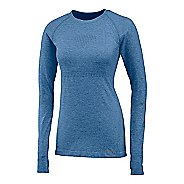 Womens Saucony Dash Seamless Long Sleeve Technical Tops