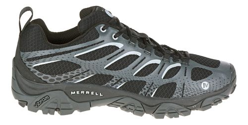 Mens Merrell Moab Edge Trail Running Shoe - Black 7