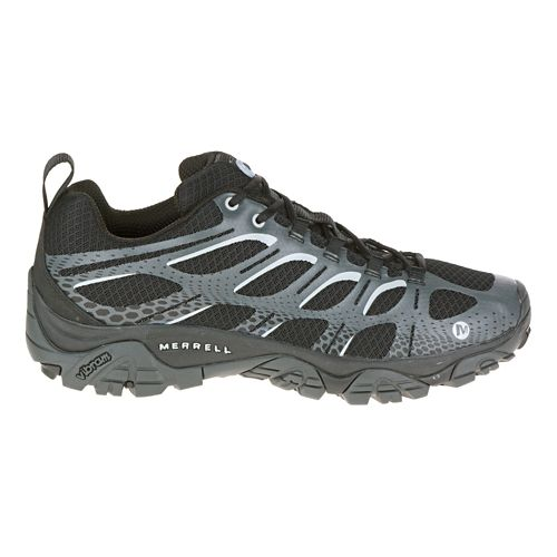 Mens Merrell Moab Edge Trail Running Shoe - Black 9