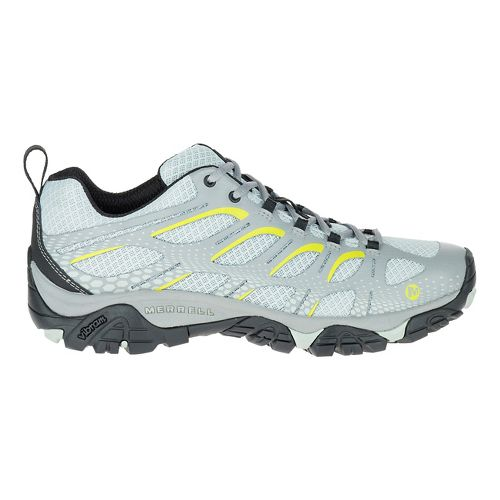 Mens Merrell Moab Edge Trail Running Shoe - Charcoal 8.5