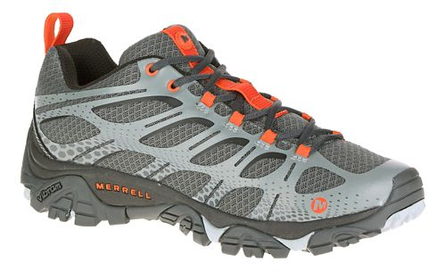 Mens Merrell Moab Edge Trail Running Shoe - Grey 9.5