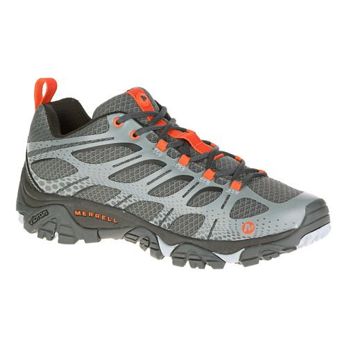 Mens Merrell Moab Edge Trail Running Shoe - Grey 9