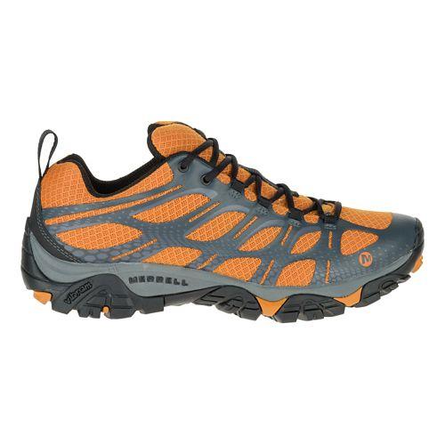 Mens Merrell Moab Edge Trail Running Shoe - Golden Oak 11.5