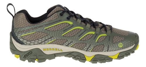 Mens Merrell Moab Edge Trail Running Shoe - Dusty Olive 9