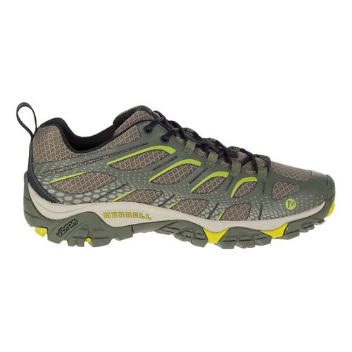 Mens Merrell Moab Edge Trail Running Shoe - Dusty Olive 8