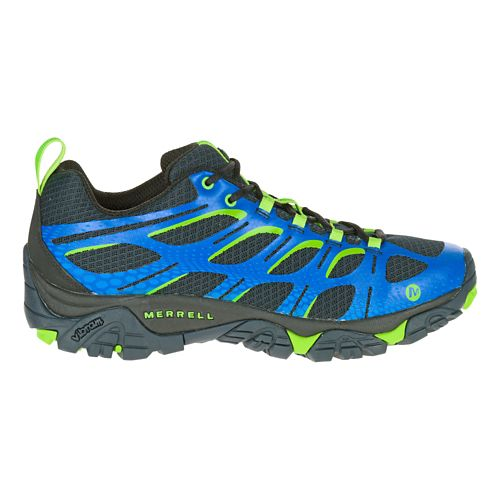 Mens Merrell Moab Edge Trail Running Shoe - Navy 10
