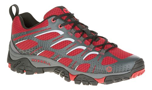 Mens Merrell Moab Edge Trail Running Shoe - Deep Red 10.5