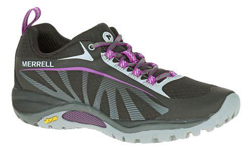 Womens Merrell Siren Edge Trail Running Shoe - Black 9.5
