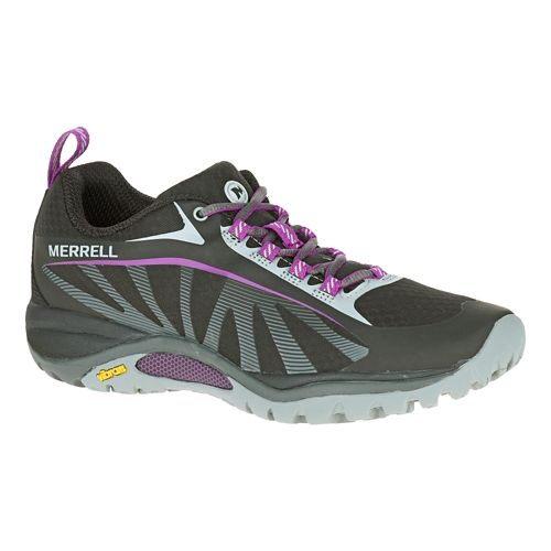 Womens Merrell Siren Edge Trail Running Shoe - Black 6