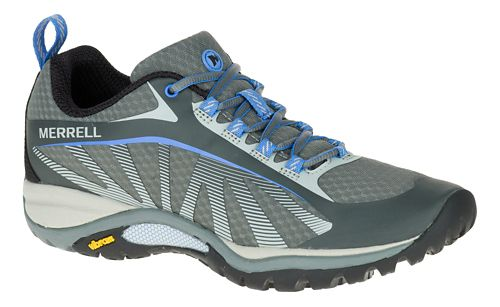 Womens Merrell Siren Edge Trail Running Shoe - Faience/Aluminum 7.5