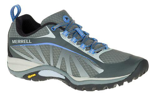 Womens Merrell Siren Edge Trail Running Shoe - Grey 7.5
