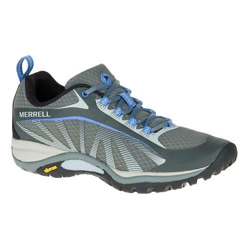 Womens Merrell Siren Edge Trail Running Shoe - Grey 9.5